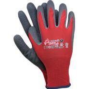 Rękawice ochronne z nylonu, powlekane lateksem RNYLA CS