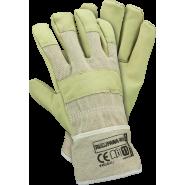 Rękawice ochronne ocieplane kożuszkiem wzmacniane skórą świńską REIS RLCJPAWA-WIN