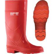Buty zawodowe kwasoługoodporne wykonane z PCV modyfikowanego kauczukiem nitrylowym FAGUM-STOMIL BFKD13111 C