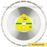 Tarcze diamentowe do cięcia betonu 350x3x20 mm, Klingspor DT 350 U Extra