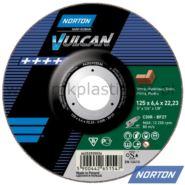 Tarcza do szlifowania betonu 180x6,4x22 mm, Norton C30R Vulcan