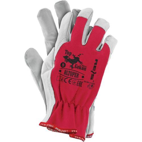 Rękawice ochronne z koziej skóry RLTOPER CW