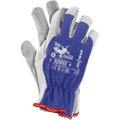 Rękawice ochronne z koziej skóry RLTOPER NW