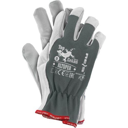 Rękawice ochronne z koziej skóry RLTOPER SW