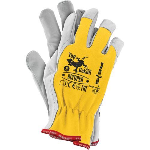 Rękawice ochronne z koziej skóry RLTOPER YW