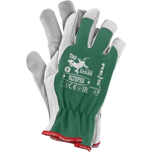 Rękawice ochronne z koziej skóry RLTOPER ZW